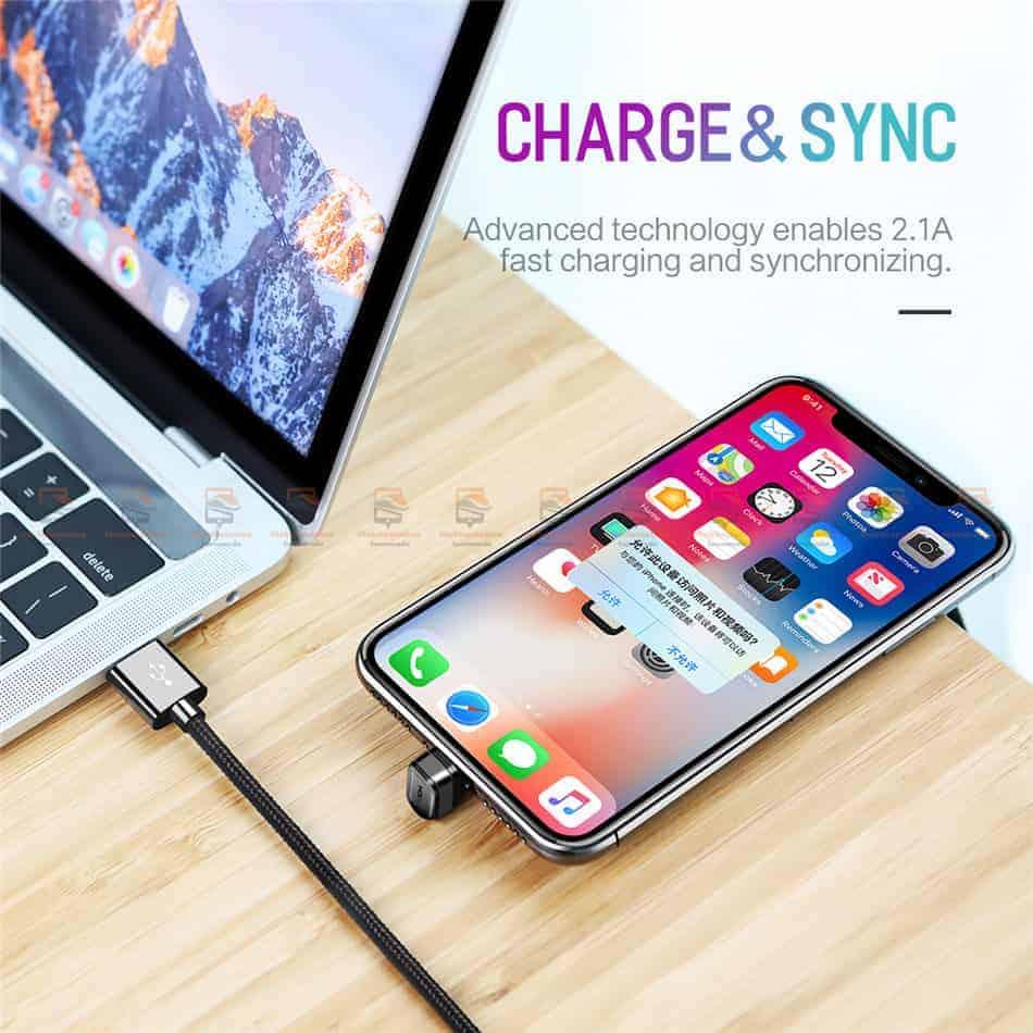 สายชาร์จเล่นเกมส์ ROCK for iPhone Game USB Cable Lightning 6
