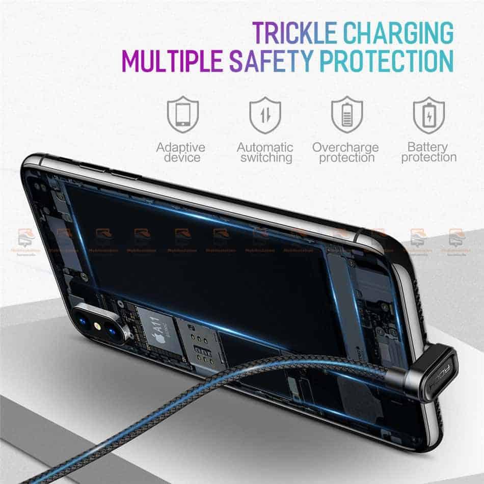 สายชาร์จเล่นเกมส์ ROCK for iPhone Game USB Cable Lightning 7