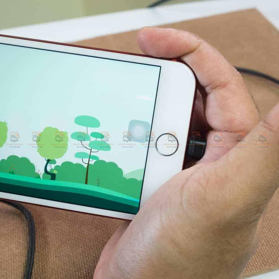 สายชาร์จเล่นเกมส์ ROCK for iPhone Game USB Cable Lightning รีวิวสินค้าจริง-7