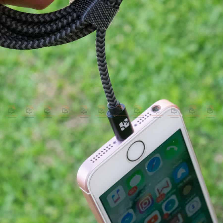 สายชาร์จไอโฟน Coolreall MFI USB Charger Cable for iPhone X-7-8-6-5 Cable Fast Charger รูปสินค้าจริง-6