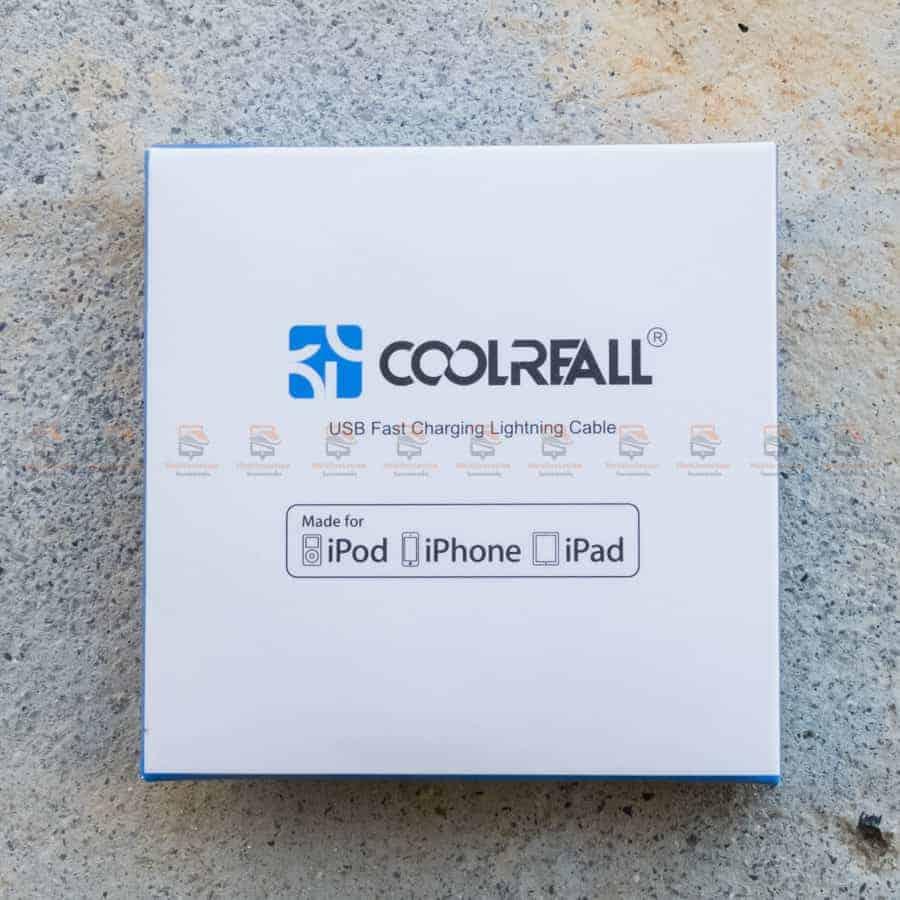 สายชาร์จไอโฟน Coolreall MFI USB Charger Cable for iPhone X-7-8-6-5 Cable Fast Charger รูปสินค้าจริง