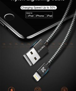 สายชาร์จไอโฟน Coolreall MFI USB Charger Cable for iPhone X7865 Cable Fast Charger-1