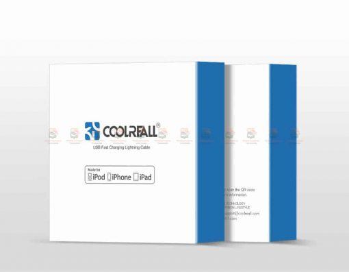 สายชาร์จไอโฟน Coolreall MFI USB Charger Cable for iPhone X7865 Cable Fast Charger-12