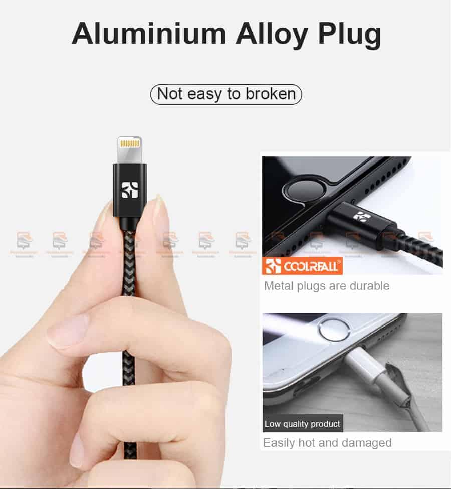 สายชาร์จไอโฟน Coolreall MFI USB Charger Cable for iPhone X7865 Cable Fast Charger-7