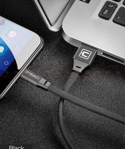 สายชาร์จ Samsung Android สายสั้น Cafele USB Cable Fast Charging Data Cable สั้น 30 Cm-11
