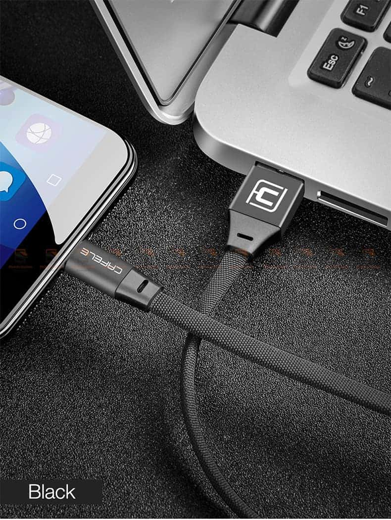สายชาร์จ Samsung Android Cafele USB Cable Fast Charging Data Cable สั้น 30 Cm-11