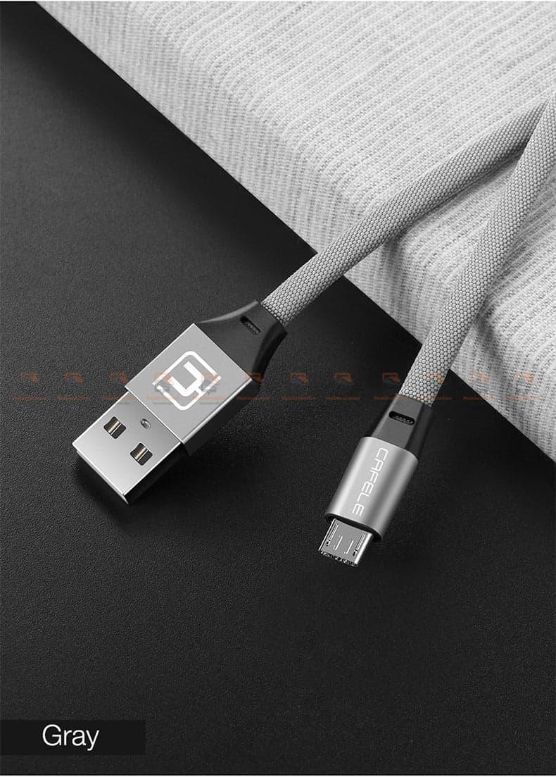 สายชาร์จ Samsung Android Cafele USB Cable Fast Charging Data Cable สั้น 30 Cm-12