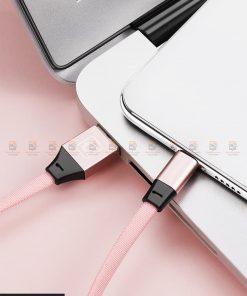 สายชาร์จ Samsung Android สายสั้น Cafele USB Cable Fast Charging Data Cable สั้น 30 Cm-13