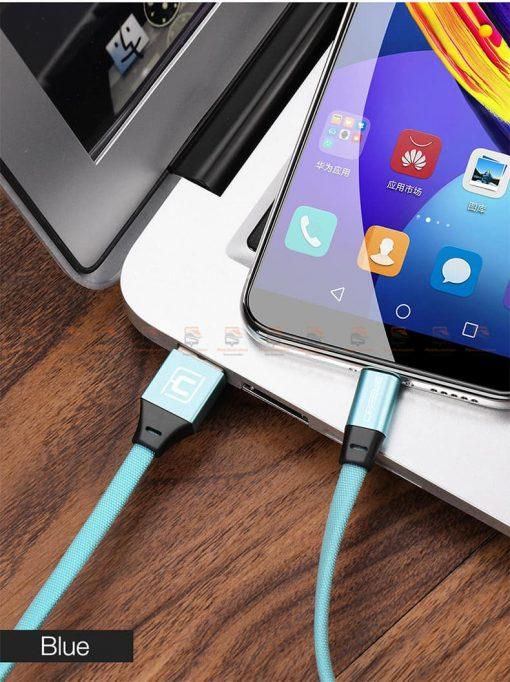 สายชาร์จ Samsung Android สายสั้น Cafele USB Cable Fast Charging Data Cable สั้น 30 Cm-14