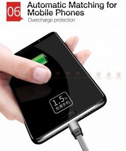 สายชาร์จ Samsung Android สายสั้น Cafele USB Cable Fast Charging Data Cable สั้น 30 Cm-9