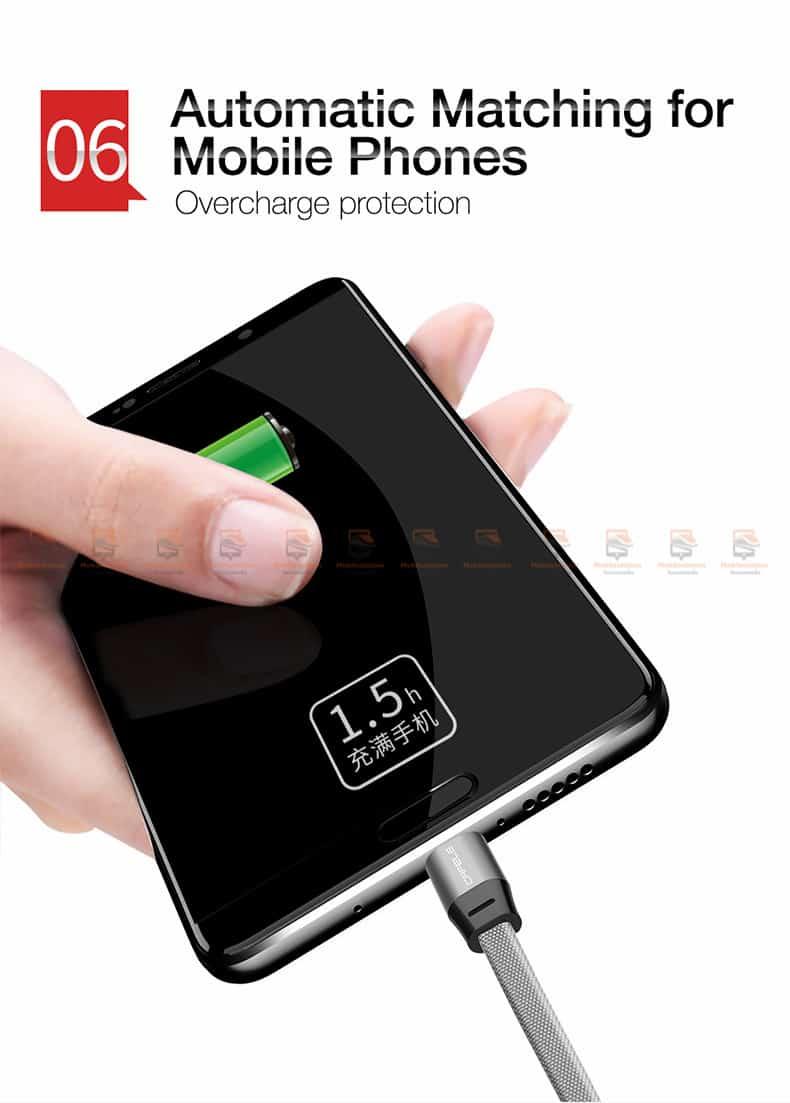 สายชาร์จ Samsung Android Cafele USB Cable Fast Charging Data Cable สั้น 30 Cm-9