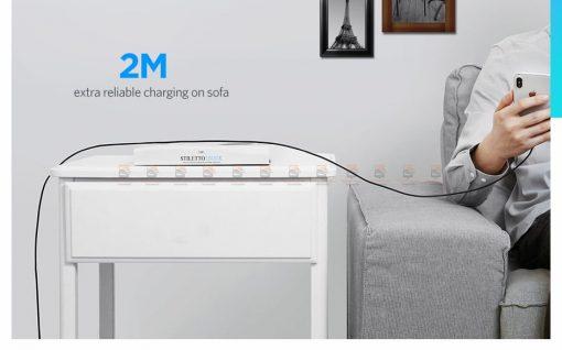 สายชาร์จไอโฟน Ugreen MFi Lightning to USB Cable for iPhone X 7 6 5 6s Plus Fast Charging-13