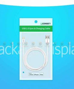 สายชาร์จไอโฟน Ugreen MFi Lightning to USB Cable for iPhone X 7 6 5 6s Plus Fast Charging-17
