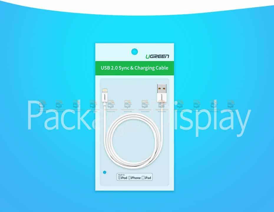 สายชาร์จ Ugreen MFi Lightning to USB Cable for iPhone X 7 6 5 6s Plus Fast Charging-17