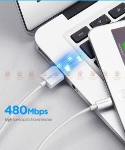 สายชาร์จไอโฟน Ugreen MFi Lightning to USB Cable for iPhone X 7 6 5 6s Plus Fast Charging-7