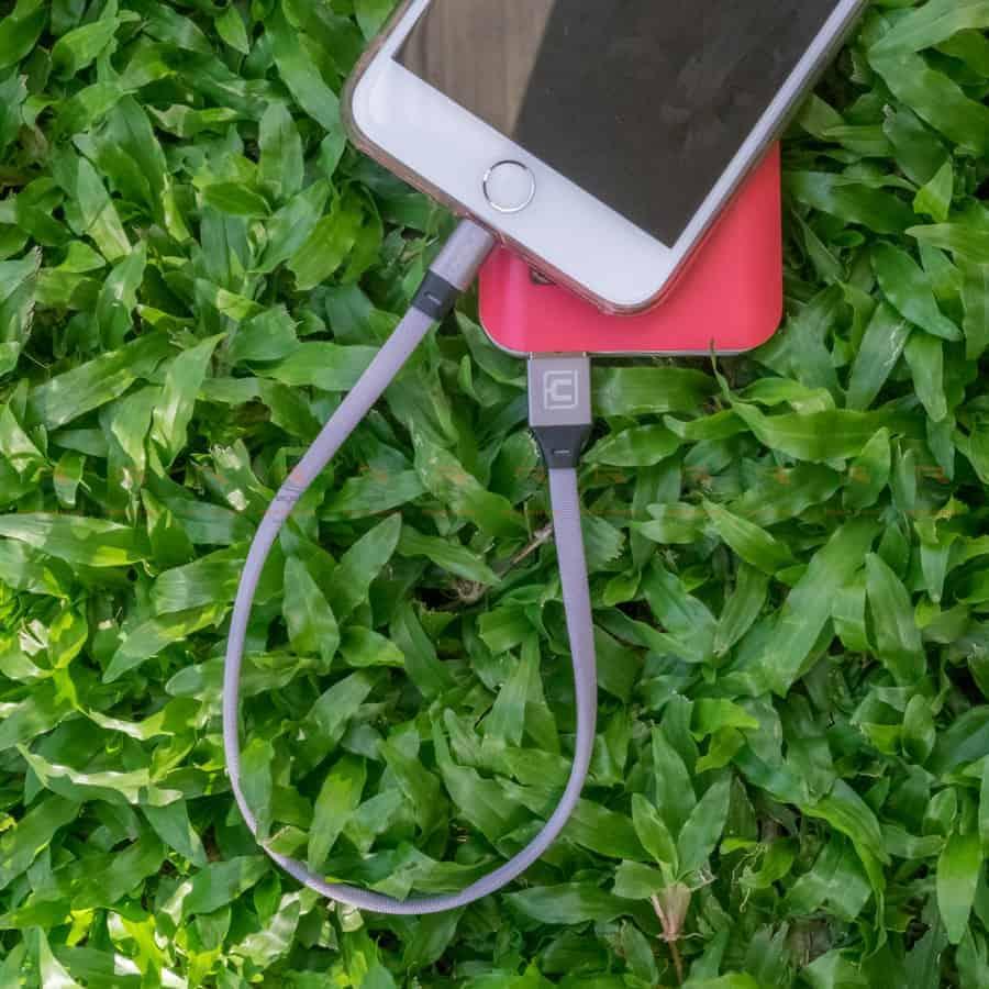 สายชาร์จ iPhone สั้น X 8 7 6 5 SE Cafele USB Cable Fast Charging Data Cable ยาว 30 Cm สินค้าจริง-5