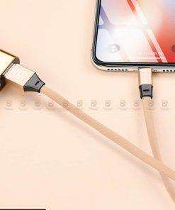 สายชาร์จ iPhone สั้น X 8 7 6 5 SE Cafele USB Cable Fast Charging Data Cable ยาว 30 Cm-12