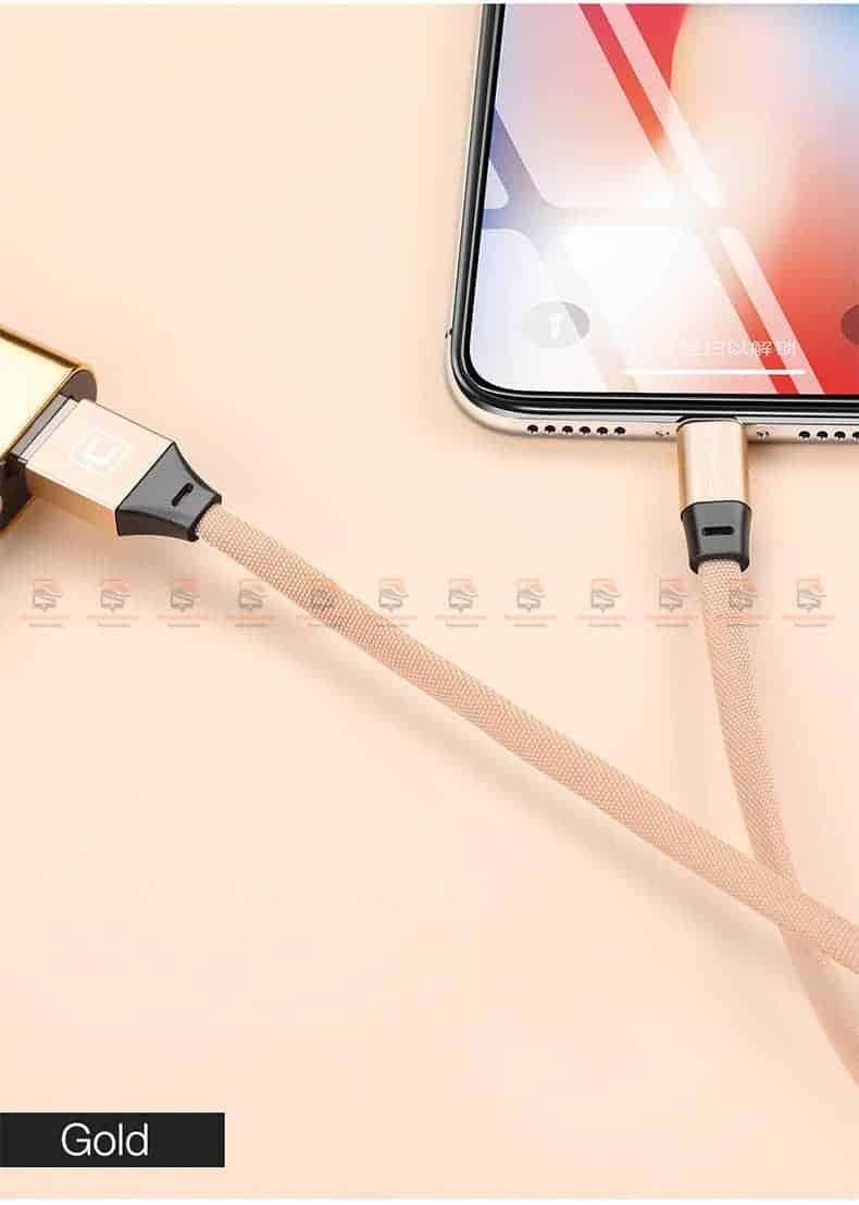สายชาร์จ iPhone X 8 7 6 5 SE Cafele USB Cable Fast Charging Data Cable สั้น 30-12