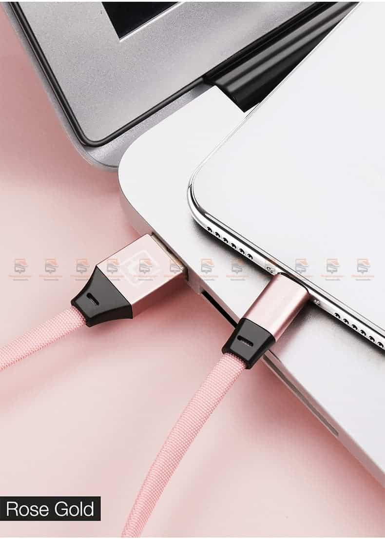 สายชาร์จ iPhone X 8 7 6 5 SE Cafele USB Cable Fast Charging Data Cable สั้น 30-13
