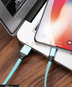 สายชาร์จ iPhone สั้น X 8 7 6 5 SE Cafele USB Cable Fast Charging Data Cable ยาว 30 Cm-14