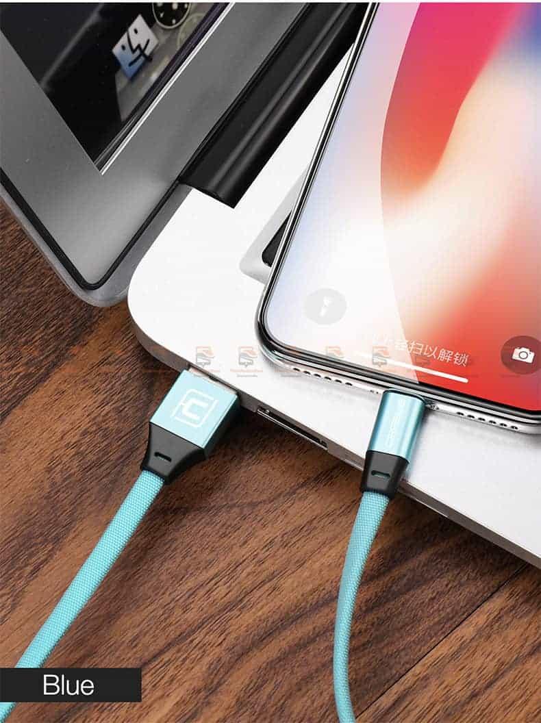 สายชาร์จ iPhone X 8 7 6 5 SE Cafele USB Cable Fast Charging Data Cable สั้น 30-14