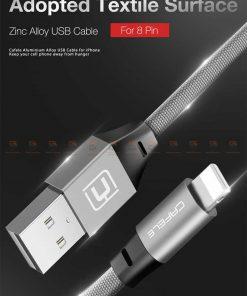 สายชาร์จ iPhone สั้น X 8 7 6 5 SE Cafele USB Cable Fast Charging Data Cable ยาว 30 Cm-1