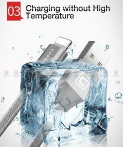 สายชาร์จ iPhone สั้น X 8 7 6 5 SE Cafele USB Cable Fast Charging Data Cable ยาว 30 Cm-6