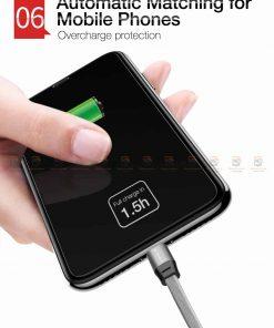 สายชาร์จ iPhone สั้น X 8 7 6 5 SE Cafele USB Cable Fast Charging Data Cable ยาว 30 Cm-9