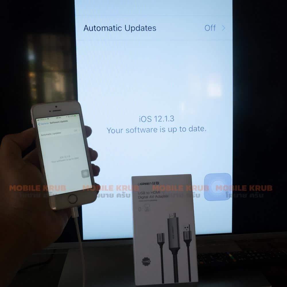 สาย HDMI iPhone - support new iOS 12.1.3 brand Ugreen