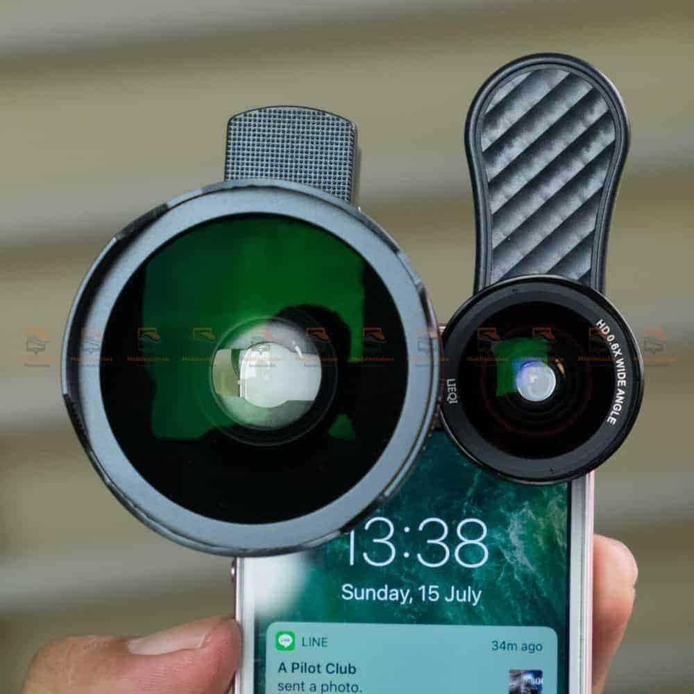 รีวิว เลนส์มือถือ Lieqi LQ-045 VS LQ-046 ถ่ายมุมวาย มาโคร ถ่ายวีดีโอ ตัวไหนดีกว่ากัน-6