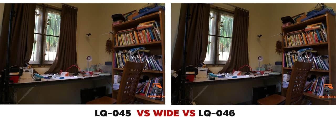 รีวิว เลนส์มือถือ Lieqi LQ-045 VS LQ-046 ถ่ายมุมวาย มาโคร ถ่ายวีดีโอ เทียบมุม wide