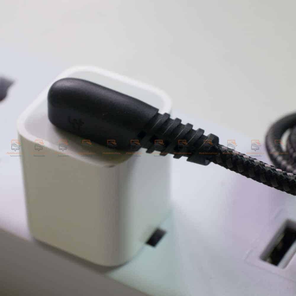 สายชาร์จไอโฟน TIEGEM 90 Degree For iPhone X 8 7 6 5 6s plus 2.1A Fast Charger Data Cable รีวิว ตัวอย่างสินค้าจริง-3