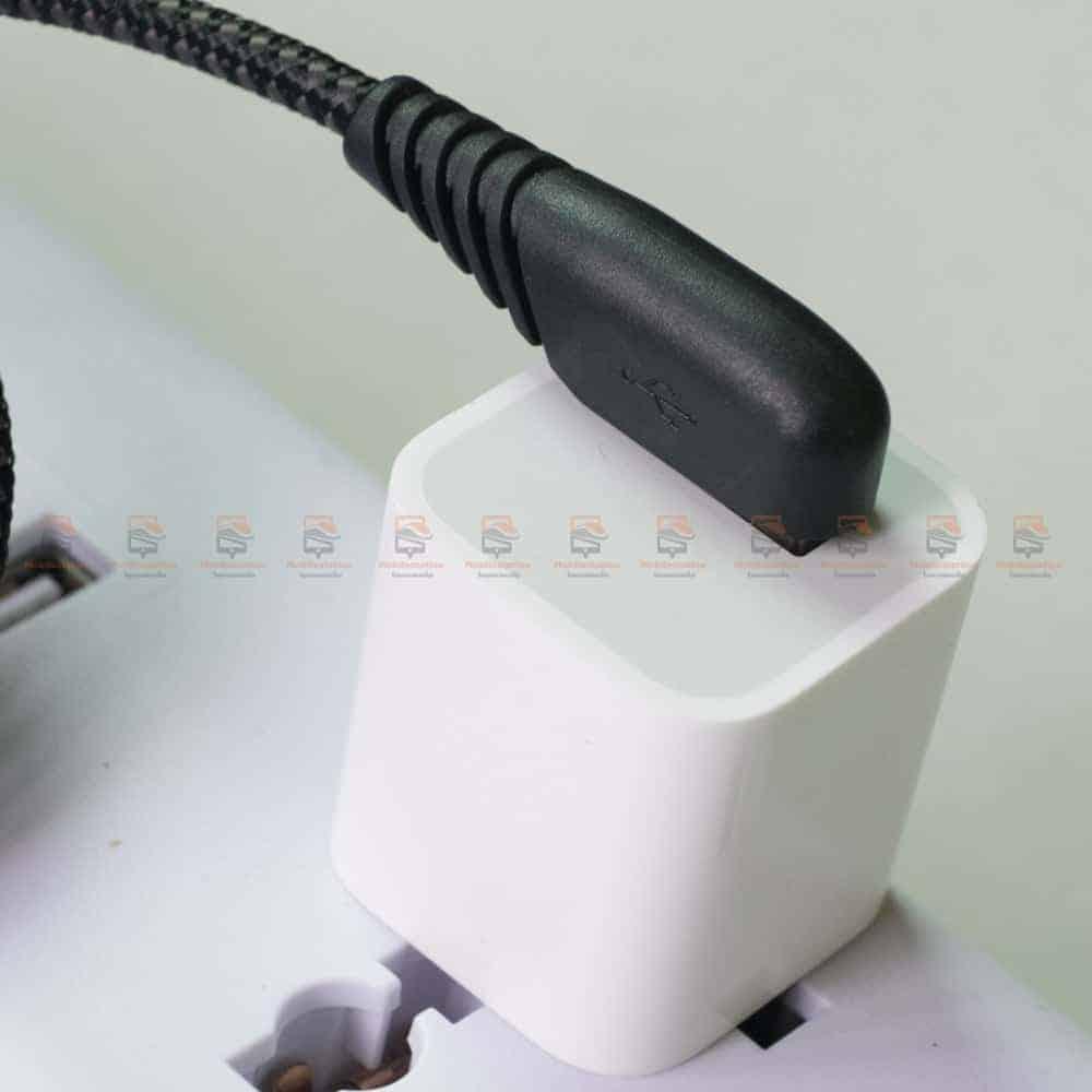 สายชาร์จ USB Type C TIEGEM 90 Degree For Samsung android 2.5A Fast Charger Data Cable รีวิว ตัวอย่างสินค้าจริง-2