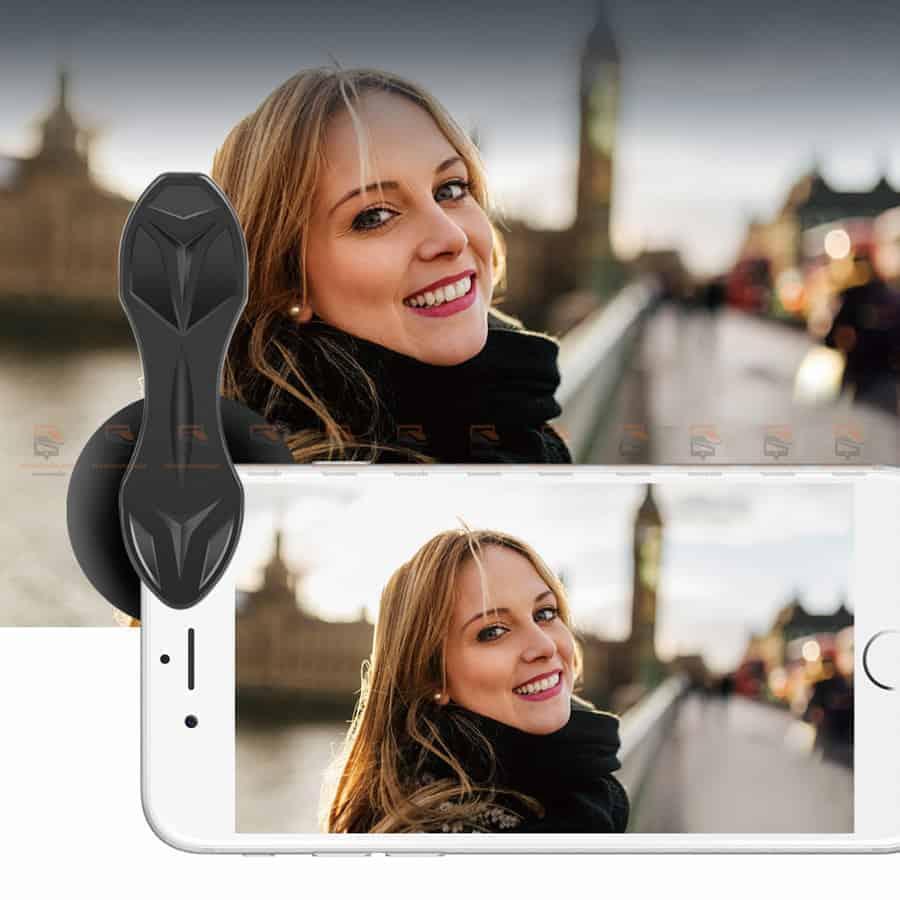 เลนส์มือถือ หน้าชัดหลังเบลอ APEXEL Professional phone Lens HD bokeh portrait 65mm-1