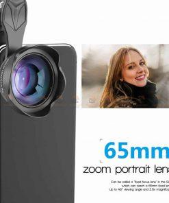เลนส์มือถือ หน้าชัดหลังเบลอ APEXEL Professional phone Lens HD bokeh portrait 65mm-2