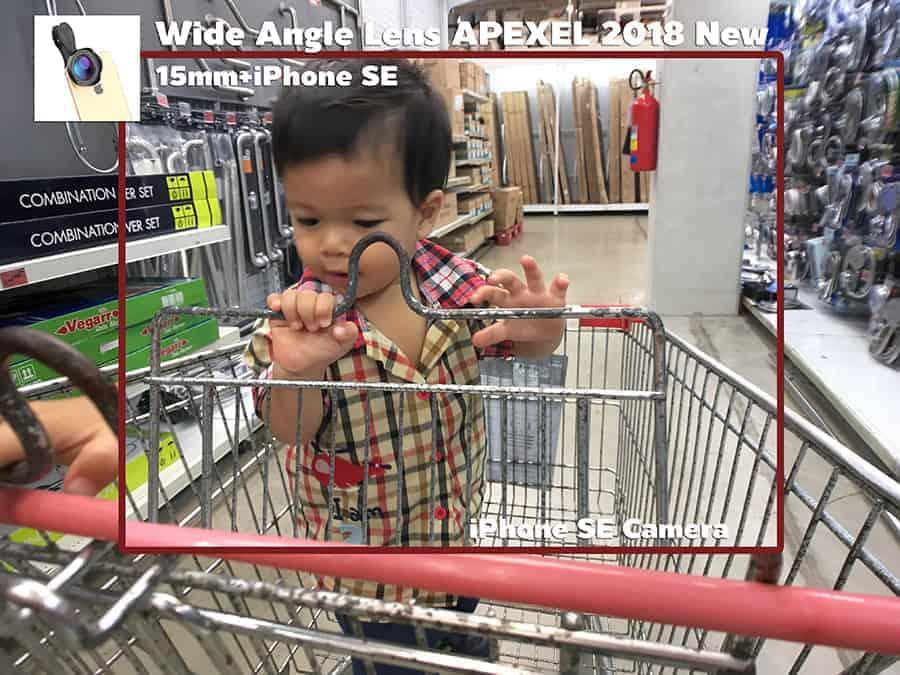 เลนส์มือถือ Wide Angle Lens APEXEL 2018 New 15mm รีวิวตัวอย่างภาพถ่ายจริง-1