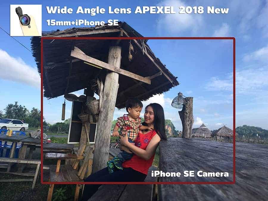 เลนส์มือถือ Wide Angle Lens APEXEL 2018 New 15mm รีวิวตัวอย่างภาพถ่ายจริง-2