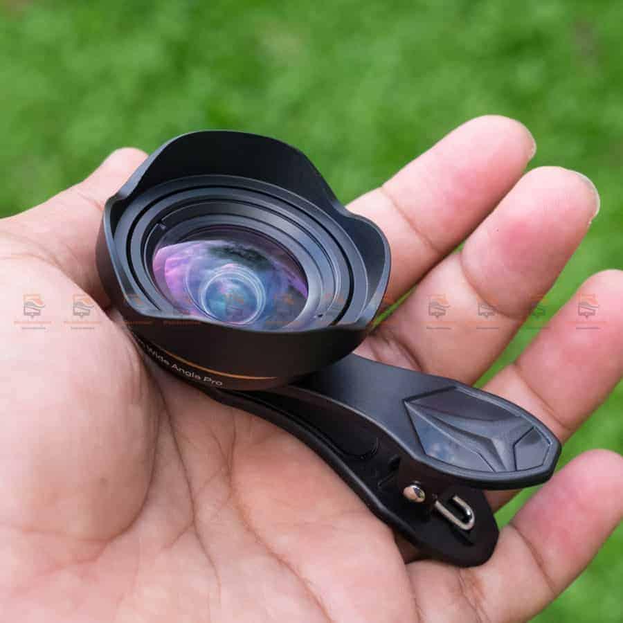 เลนส์มือถือ Wide Angle Lens APEXEL 2018 New 15mm รีวิวตัวอย่างสินค้าจริง-4