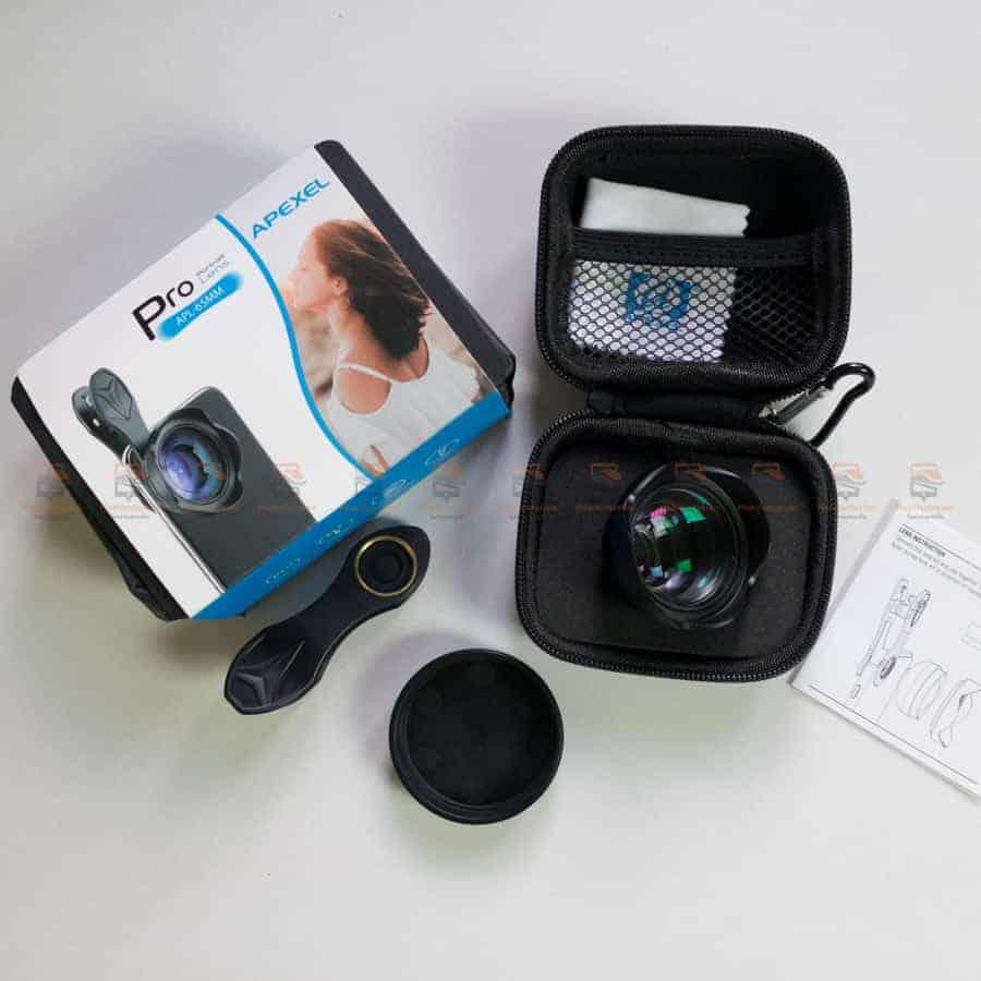 เลนส์มือถือ Wide Angle Lens APEXEL 2018 New 15mm รีวิวตัวอย่างสินค้าจริง-5