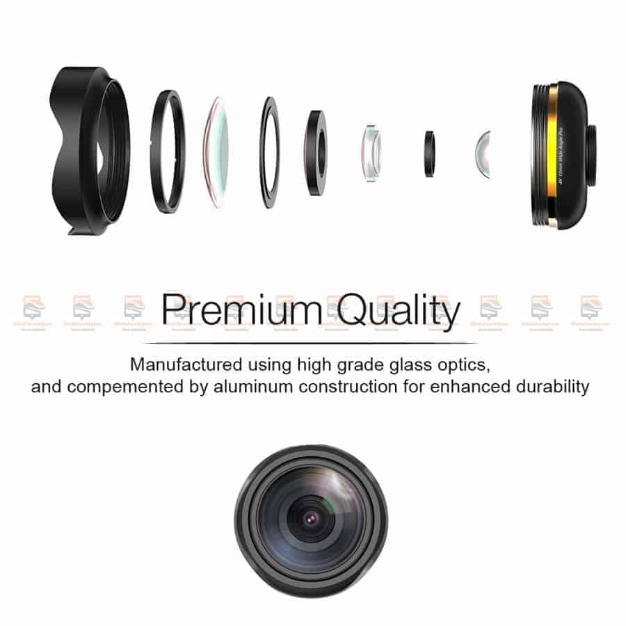 เลนส์มือถือ Wide Angle Lens APEXEL 2018 New 15mm-5