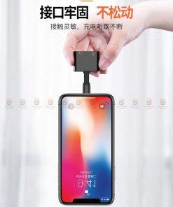 Lightning adapter for iPhone 7 8 X ฟังเพลง พร้อมชาร์จ ยี่ห้อ Torras-24