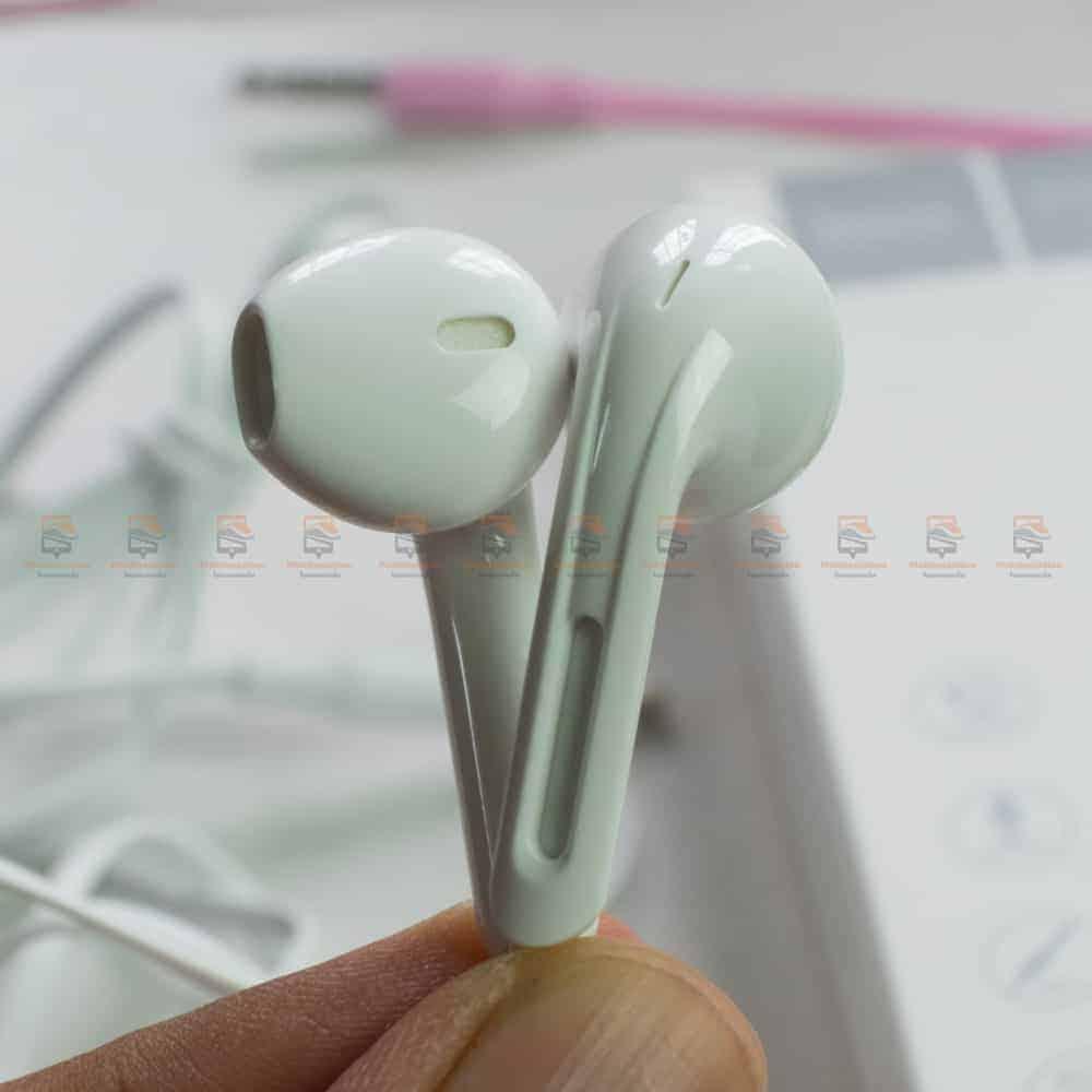 หูฟังไอโฟน hoco m39-rhyme-sound-earphones-with-microphone-รีวิว ตัวอย่างสินค้าจริง-5