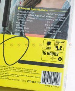 หูฟัง Bluetooth mosidun r8 Sports earphones แบบ iPhone-รีวิว รูปสินค้าจริง-2
