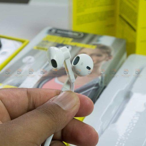 หูฟัง Bluetooth mosidun r8 Sports earphones แบบ iPhone-รีวิว รูปสินค้าจริง-4