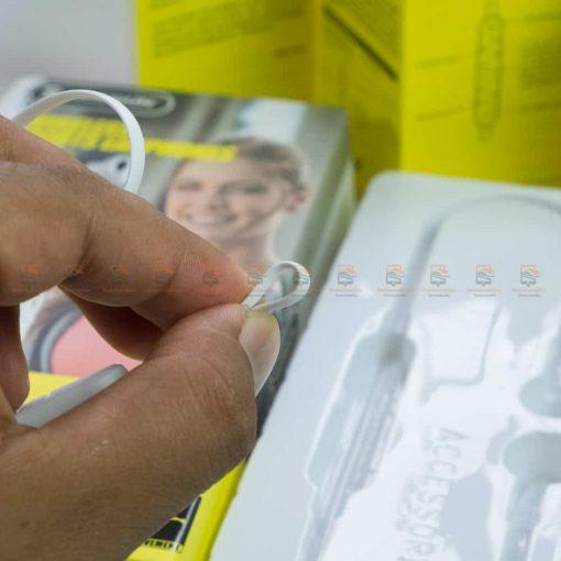 หูฟัง Bluetooth mosidun r8 Sports earphones แบบ iPhone-รีวิว รูปสินค้าจริง-6