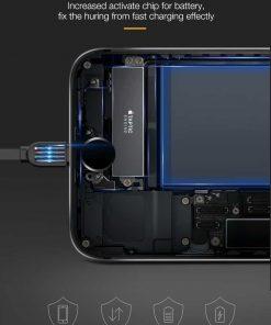 สายชาร์จไอโฟน CAFELE Retractable USB Phone Cable for iphone X 8 7 6S Plus 5S_6