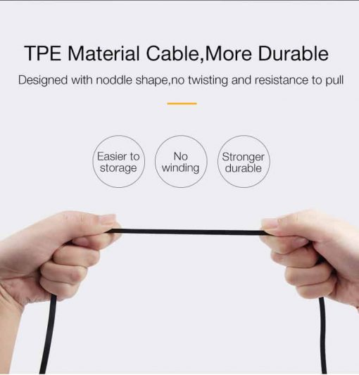 สายชาร์จไอโฟน CAFELE Retractable USB Phone Cable for iphone X 8 7 6S Plus 5S_9