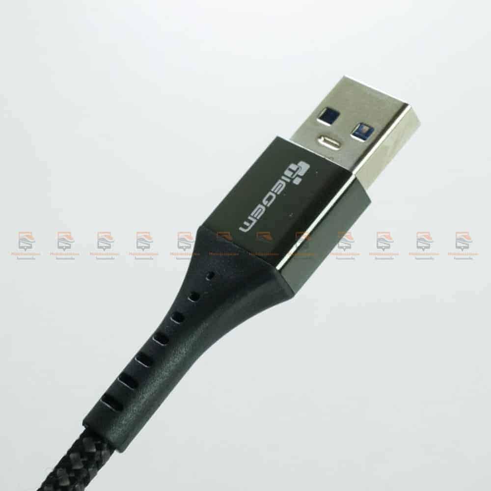 สายชาร์จ Type C USB 3.0 TIEGEM Nylon Fast Charging Cable For Samsung android-รีวิว รูปสินค้าจริง-8