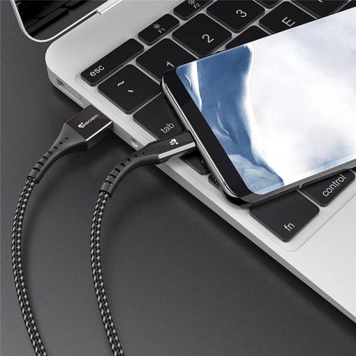 สายชาร์จ Type C USB 3.0 TIEGEM Nylon Fast Charging Cable For Samsung android_05