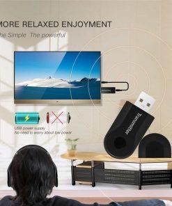 บลูทูธ Transmitter Stereo Audio Music Adapter For TV and PC_5